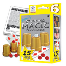 STUNNING MAGIC GOOCHELDOOSJE 15 TRUCS AS