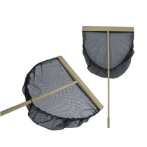 Garnalennet- 50 cm - zwart
