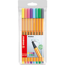 STABILO point 88 etui fineliners - 8 stuks