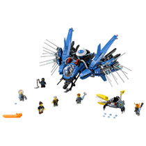 LEGO 70614 LIGHTNING JET