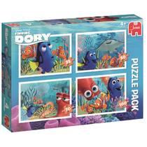Jumbo Disney Finding Dory legpuzzel 4 puzzels 35 tot 100 stukjes