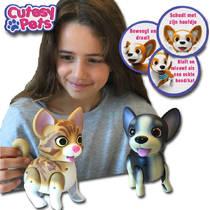 CUTESY PETS DOG A ZWART/BEIGE