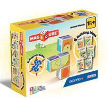 Geomag MagiCube dierenvrienden - 4 stukjes