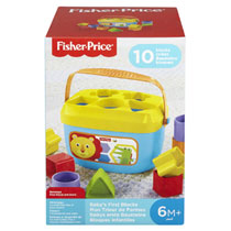 Fisher-Price baby's eerste blokken