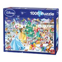 King puzzel Disney winter wonderland - 1000 stukjes