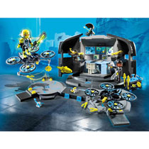 PLAYMOBIL DR. DRONE COMMANDOCENTRUM 9250