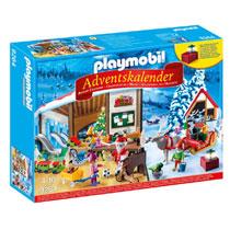 PLAYMOBIL Adventkalender kerstatelier 9264