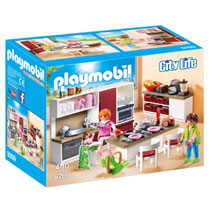 PLAYMOBIL City Life leefkeuken 9269
