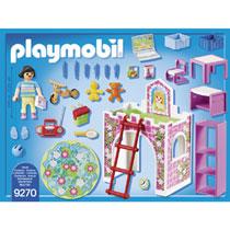 PLAYMOBIL KINDERKAMER + HOOGSLAPER 9270