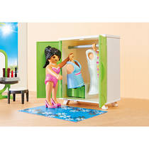 PLAYMOBIL City Life slaapkamer met make-up tafel 9271