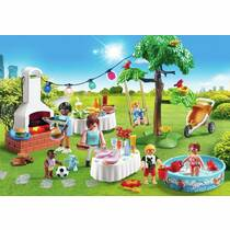 PLAYMOBIL FAMILIEFEEST + BARBECUE 9272