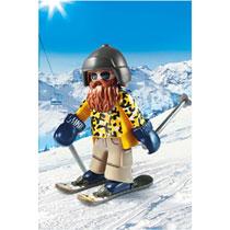 PLAYMOBIL SKIËR OP SNOWBLADES 9284