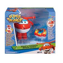 Super Wings dans en transformeer Jett met afstandsbediening