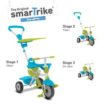 SMART TRIKE ZIP BLUE