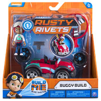 Rusty Rivets Wheeler Build Ruby buggy