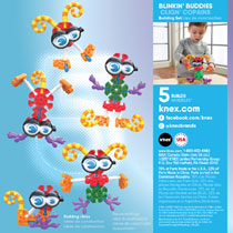 KID K'NEX BLINKIN BUDDIES BOUWSET