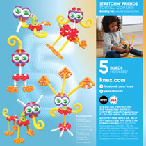 KID K'NEX STRETCHIN PALS BOUWSET