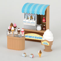 SOFT SERVE ICE CREAM SHOP