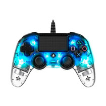 PS4 OFFICIAL WIRED LED CONTROLLER BLUE