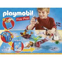 PLAYMOBIL 9328 PIRATEN MET PLATTEGROND