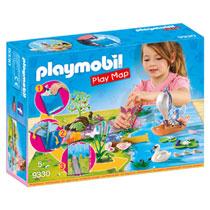 PLAYMOBIL Fairies feeën met plattegrond 9330