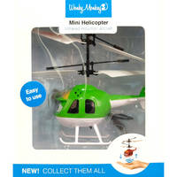 WONKY MONKEY MINI HELICOPTER GROEN