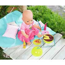 BABY BORN PLAY&FUN BBQ SET