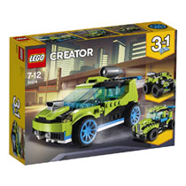 LEGO Creator raketrallyauto 31074
