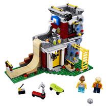 LEGO 31081 MODULAIR SKATEHUIS
