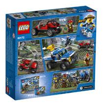 LEGO 60172 MODDERWEGACHTERVOLGING
