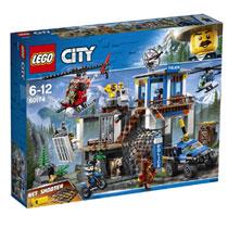 LEGO City politiekantoor op de berg 60174