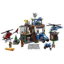 LEGO 60174 POLITIEKANTOOR OP DE BERG