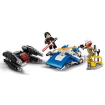 LEGO 75196 A-WING VS TIE SILENCER MICRO