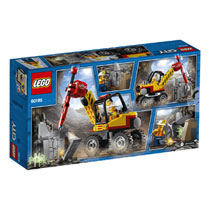 LEGO 60185 CITY KRACHT. MIJNBOUWSPLITTER