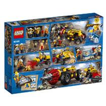 LEGO 60186 CITY ZWARE MIJNBOUWBOOR