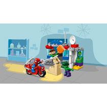 LEGO 10876 AVONTUREN SPIDERMAN EN HULK