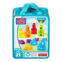 Mega Bloks First Builders 123 tellen