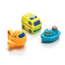 Playgro badspuitfiguren vervoersmiddelen