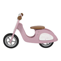 Little Dutch houten loopscooter - roze
