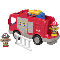 Fisher-Price Little People grote brandweerauto