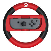 Nintendo Switch Hori MK8 Deluxe Racing Wheel Mario - rood