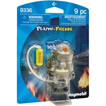PLAYMOBIL Playmo-Friends brandweerman 9336