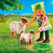 PLAYMOBIL SpecialPLUS schapenhoedster 9356