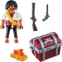 PLAYMOBIL SpecialPLUS piraat met schatkist 9358