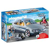 PLAYMOBIL City Action SIE-anonieme wagen 9361