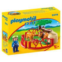 PLAYMOBIL 1.2.3. LEEUWENVERBLIJF 9378