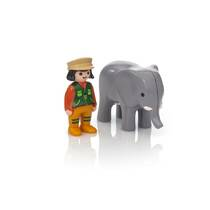 PLAYMOBIL DIERENVERZORGSTER OLIFANT 9381
