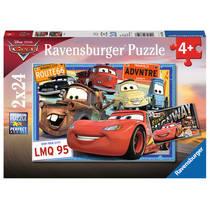 Ravensburger puzzelset Disney Cars - 2 x 24 stukjes