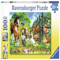 RAVENSBURGER ANIMAL GET TOGETHER 100P