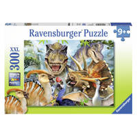 Ravensburger puzzel Dino selfies - 300 stukjes